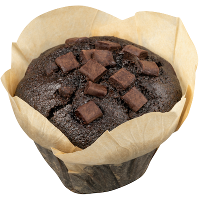 Muffin Dark Chocolate